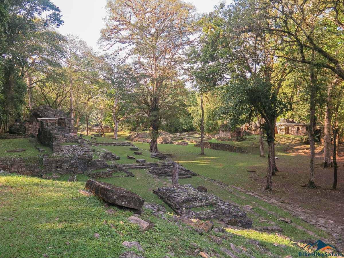 Yaxchilan Temple