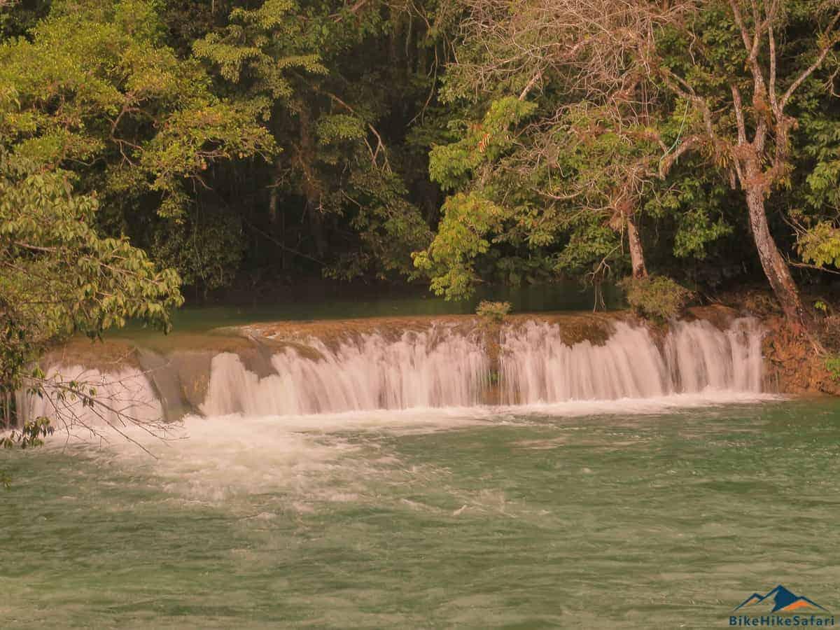 Waterfall near my campsite next to the river Lakanjá
