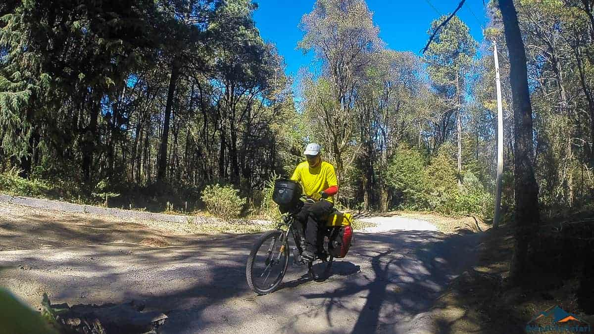 Cycling La Malinche