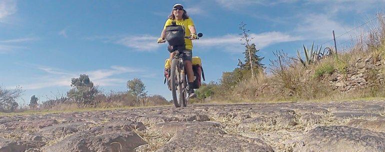 cycling aztec roads