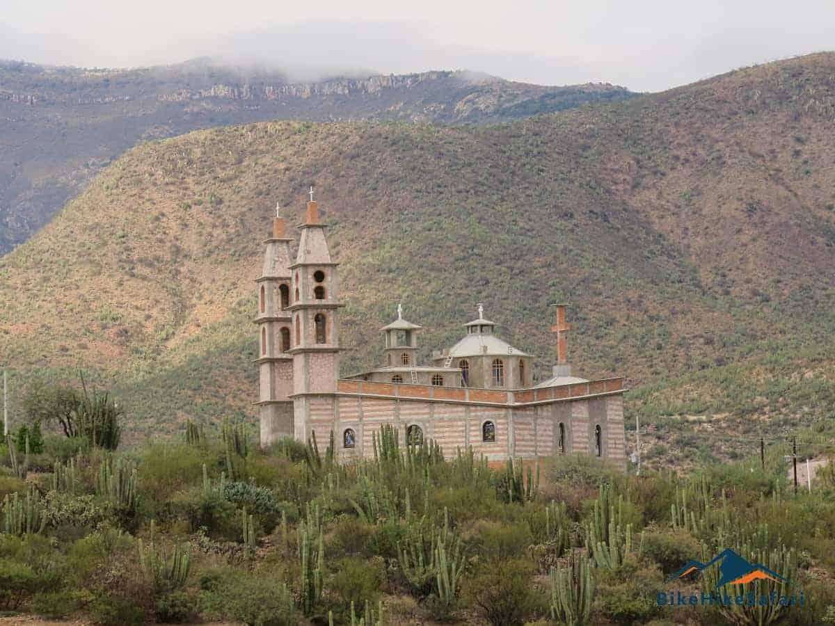 Sierra Gorda church