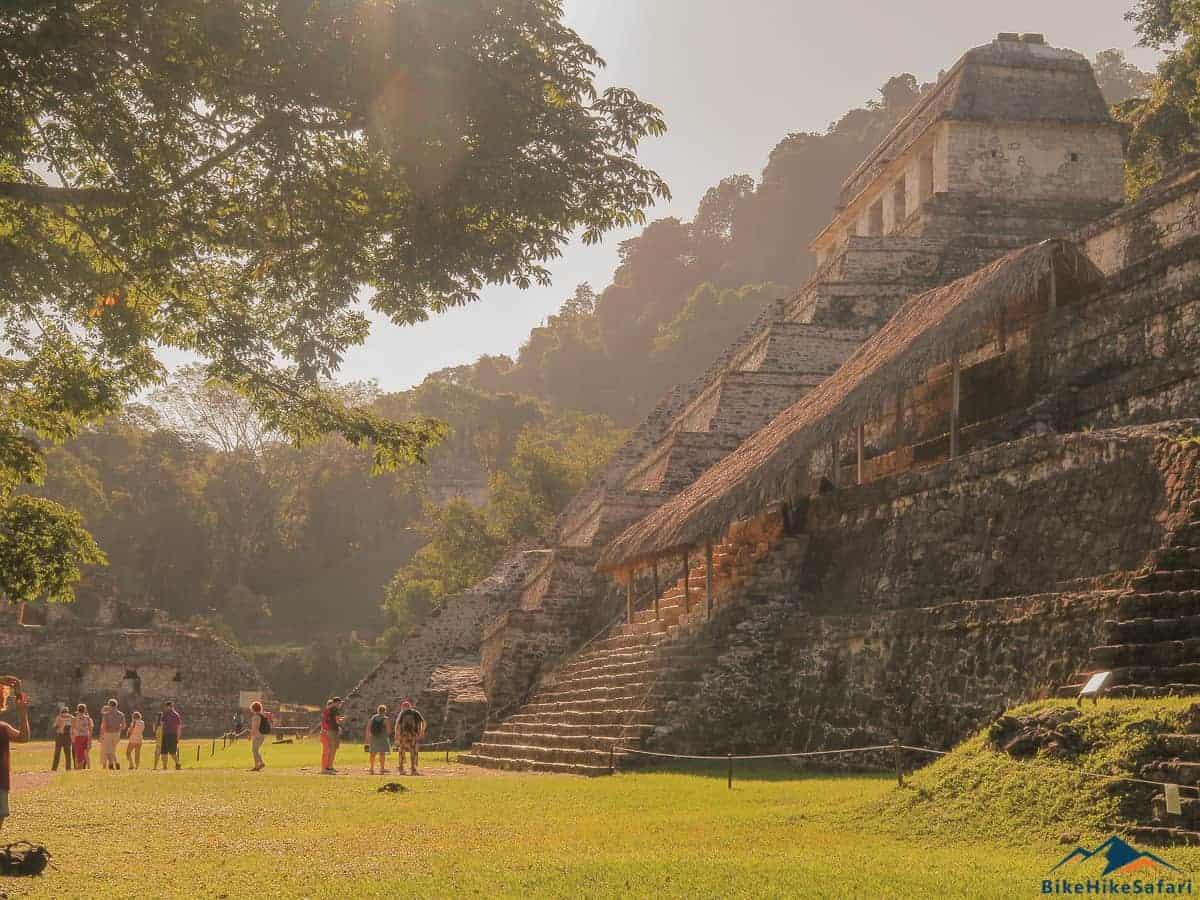 Jungle Pyramids of Palenque Mexico