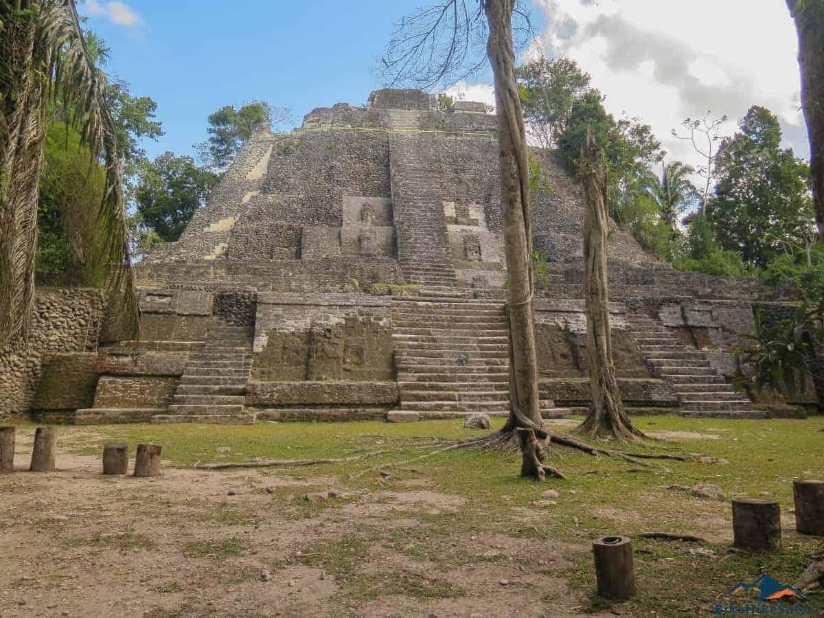 Lamanai main temple