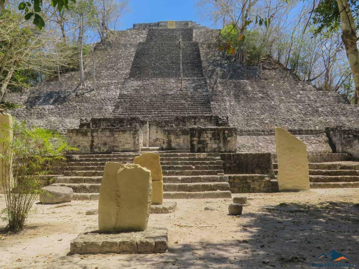 Calakmul Pyramid