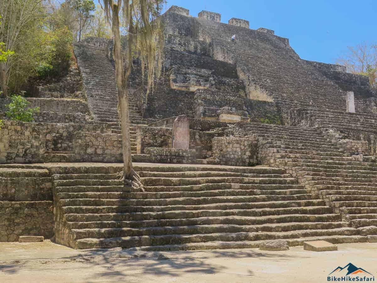 Calakmul Pyramid number 2