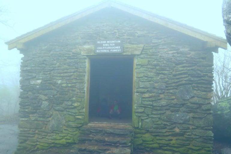blood mountain shelter