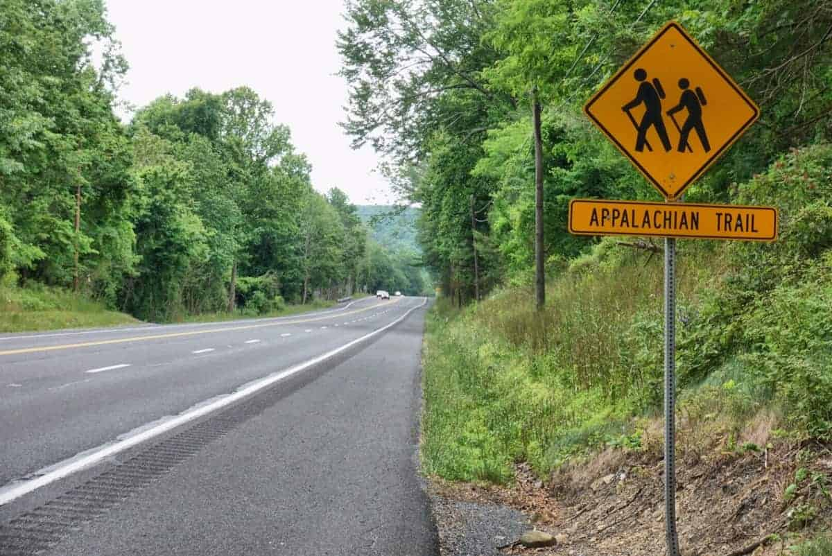 Appalachian Trail Road Sign