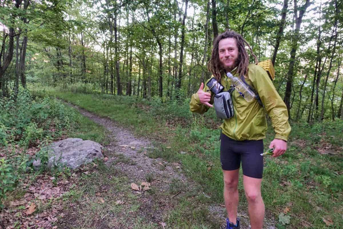 Appalachian Trail speed record