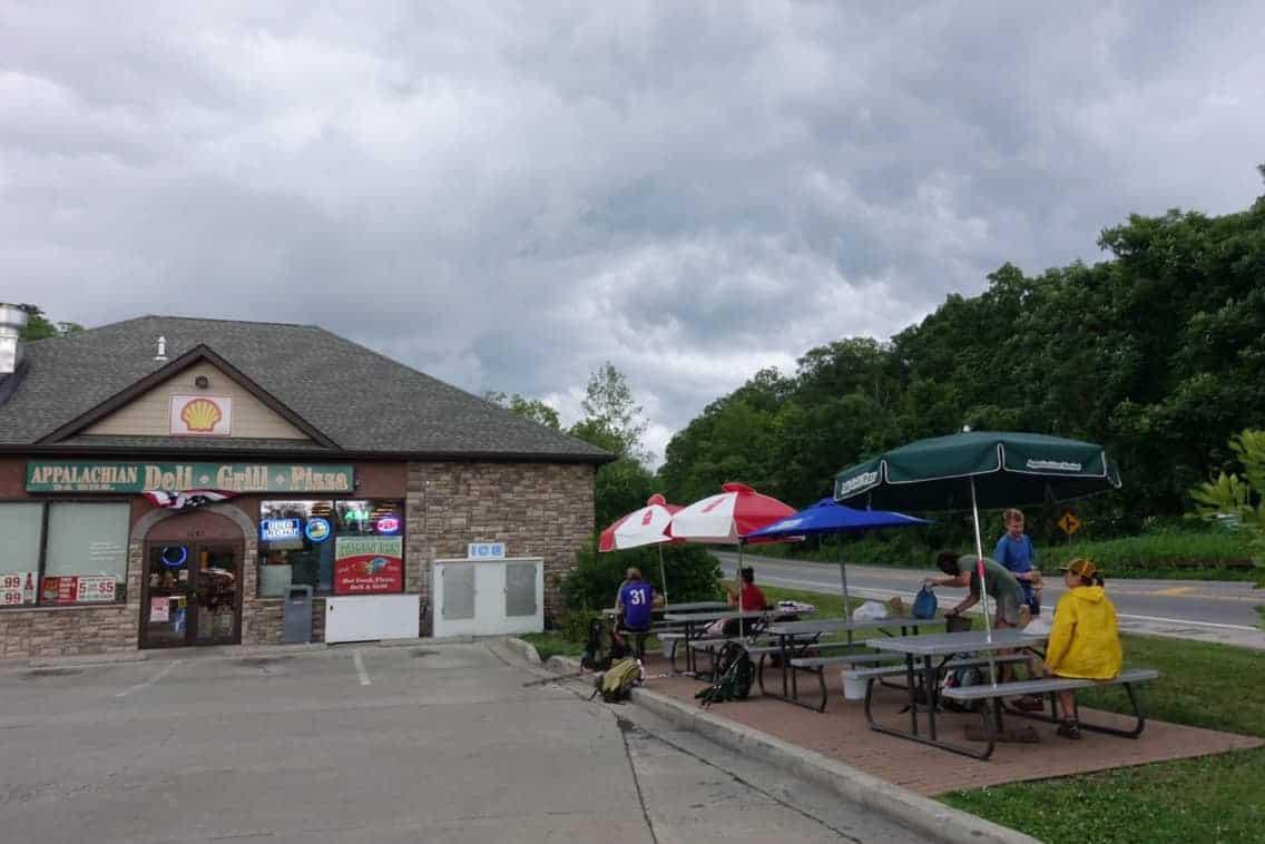 appalachian trail gas station