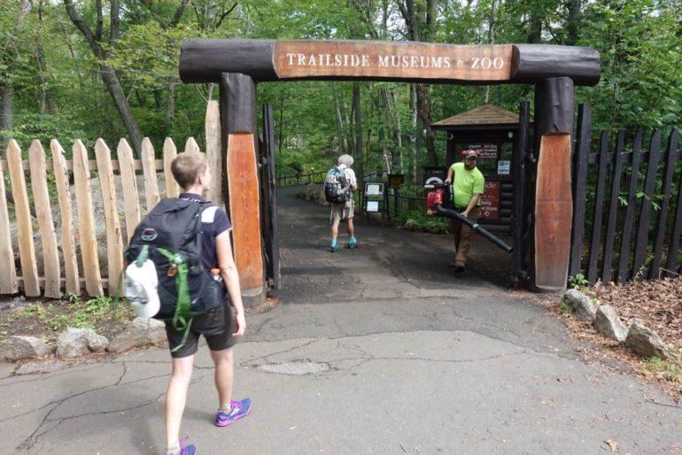 Trailside zoo, appalachian trail