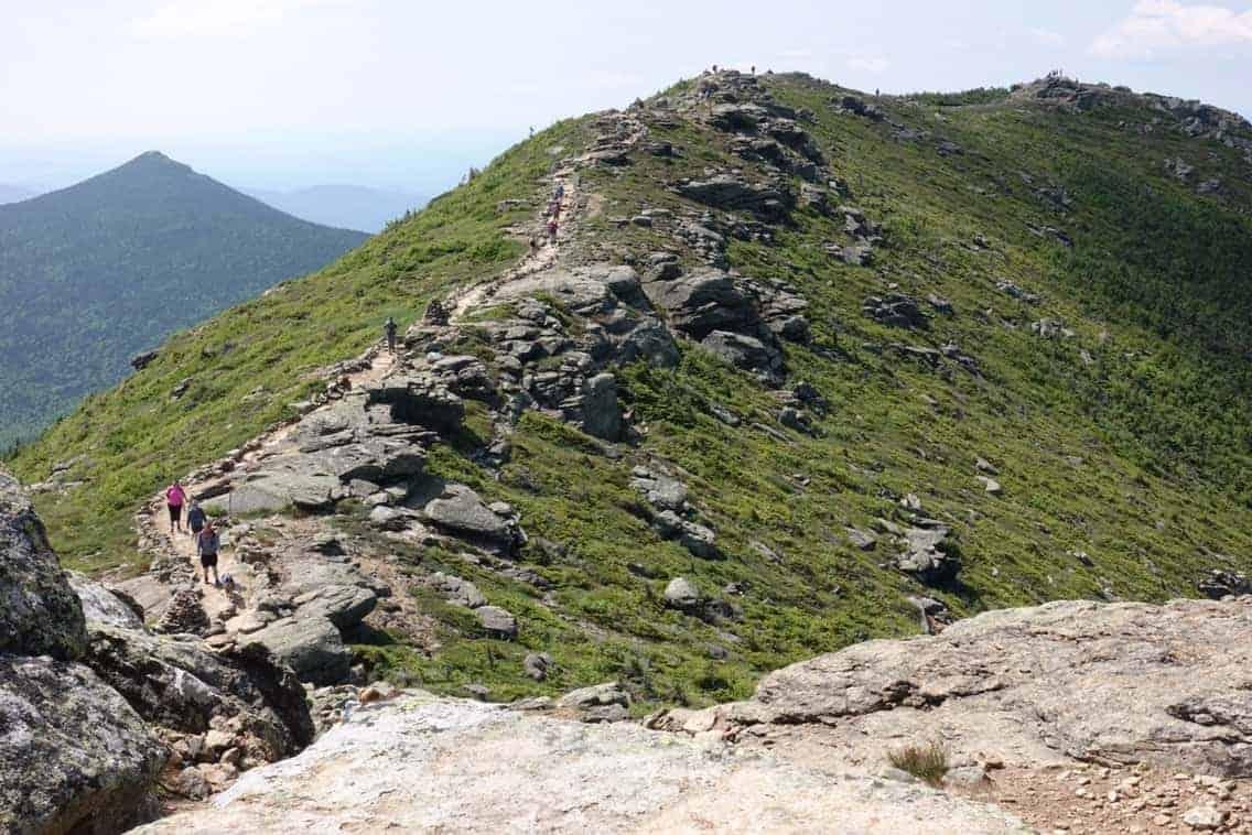 Franconia Ridge on the Appalachian Trail, White Mountains