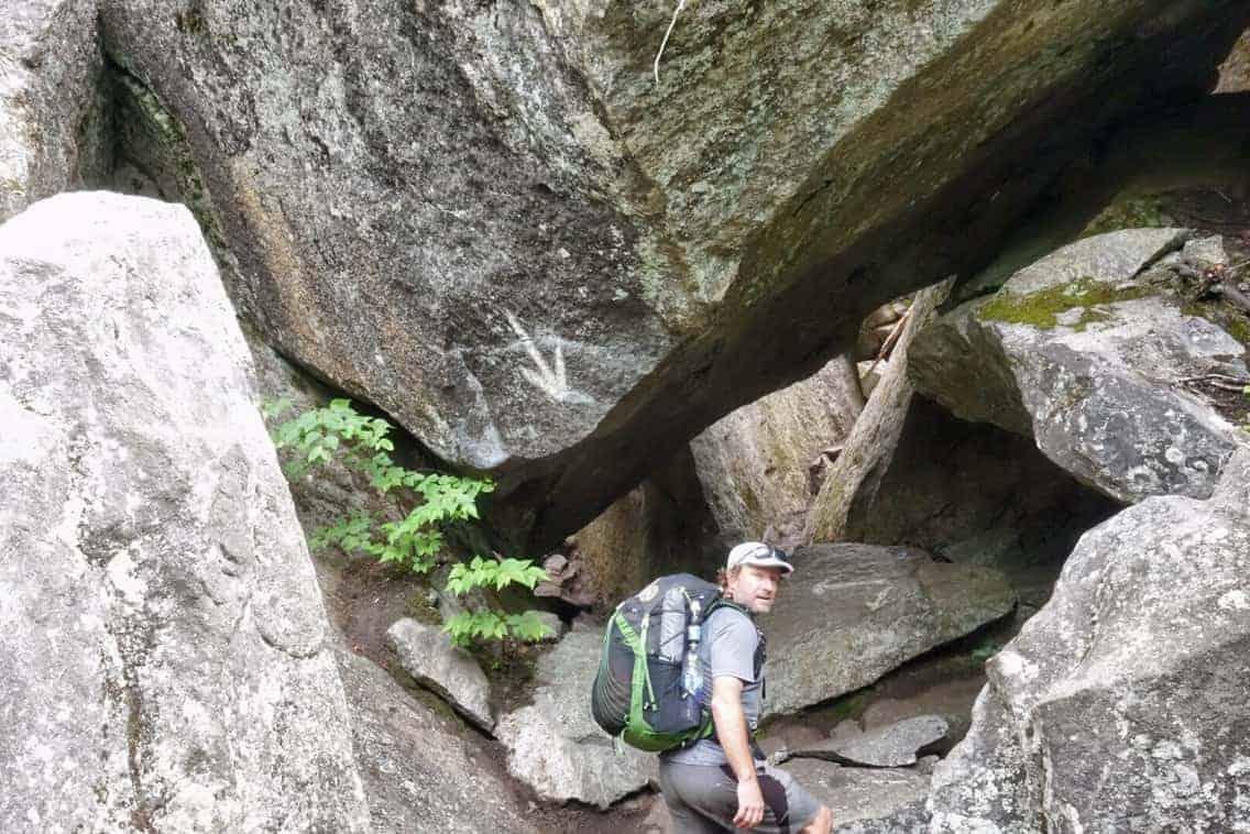 Mahoosuc Notch on the Appalachian Trail