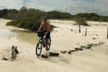 Isla Holbox by bicycle