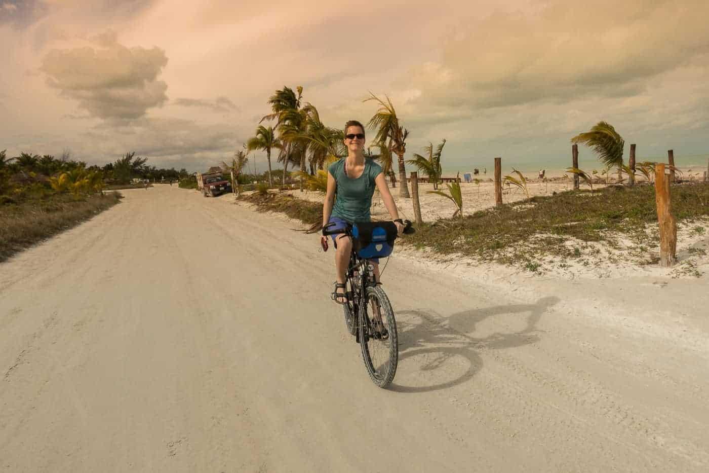 Cycling Isla Holbox