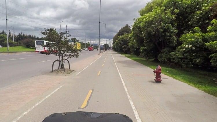 Bogota Bikepaths
