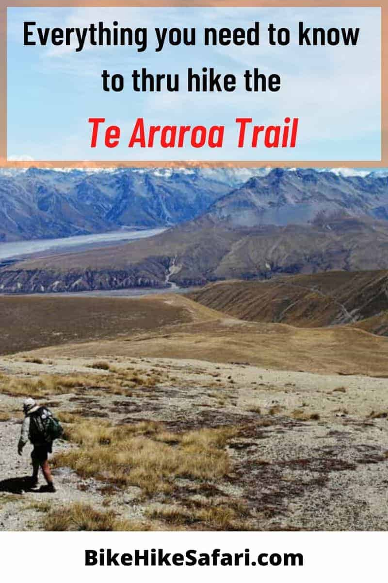 te araroa trail blog - a complete guide to thru hiking the Te Araroa Trail, including Te Araroa Trail notes and more