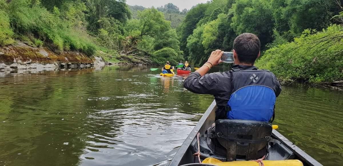 whanganui river canoe journey