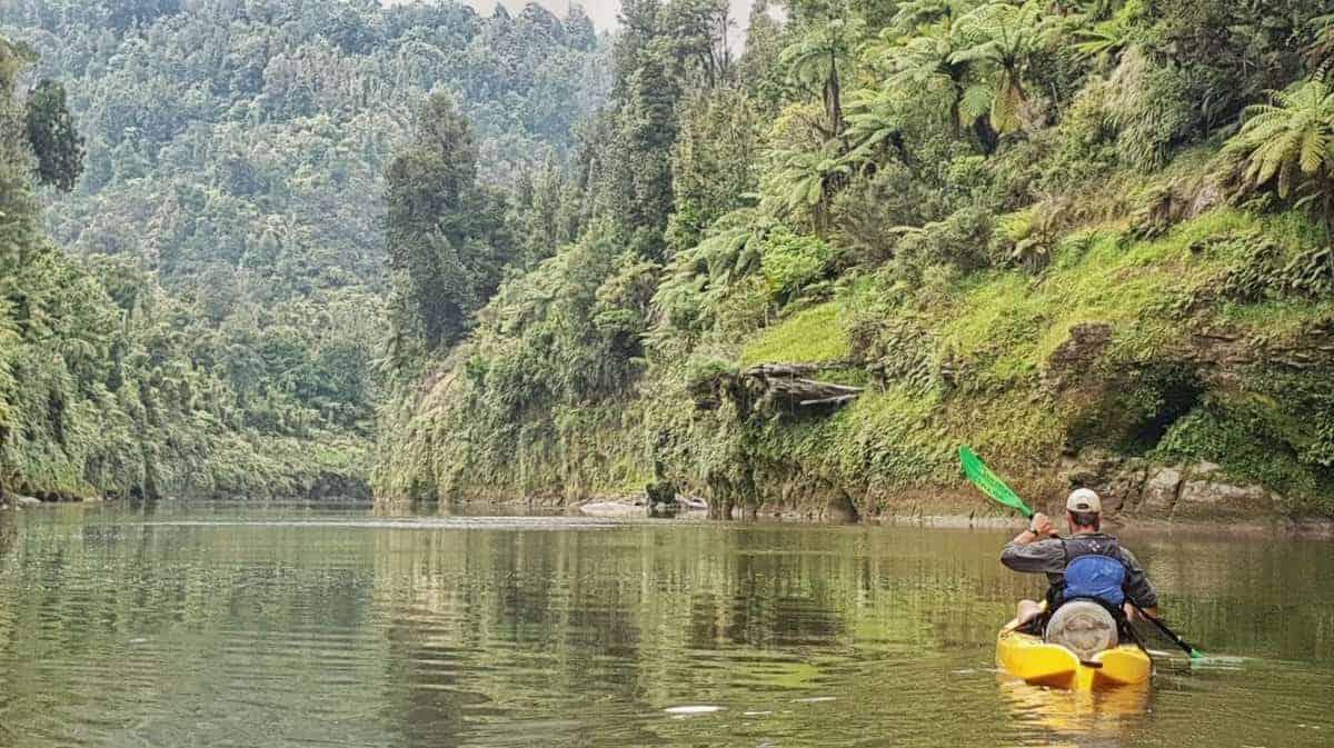 kayak on the whanganui river
