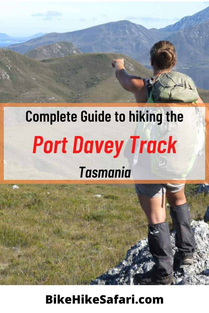 Port Davey Track