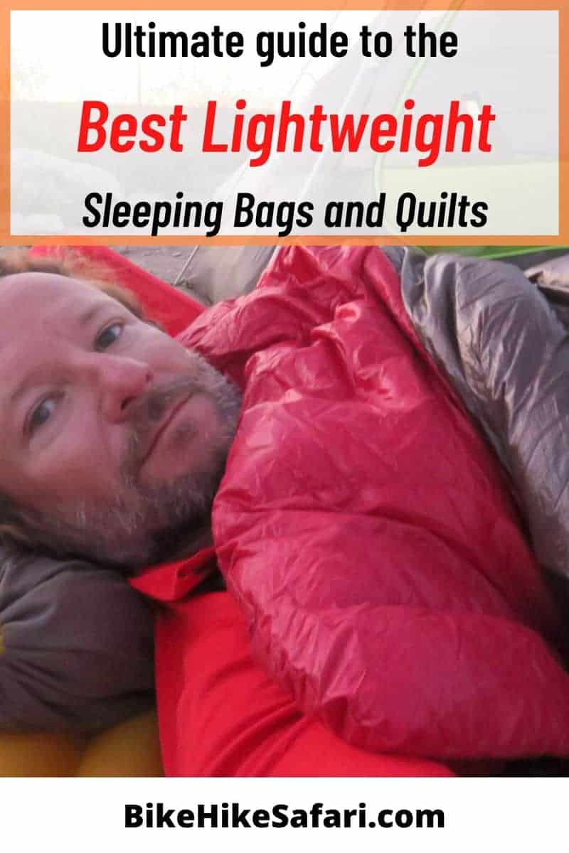 Best Lightweight Sleeping Bags and Quilts