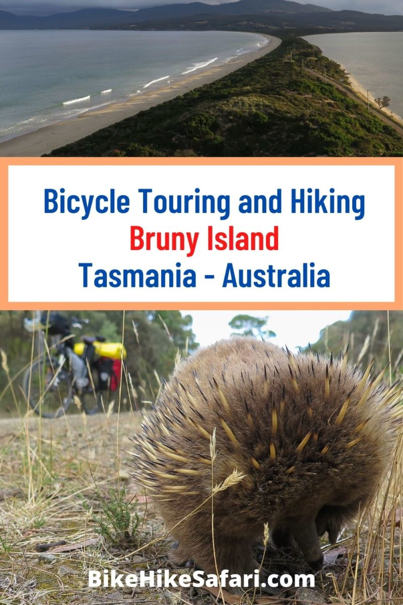 Bicycle Touring Bruny Island