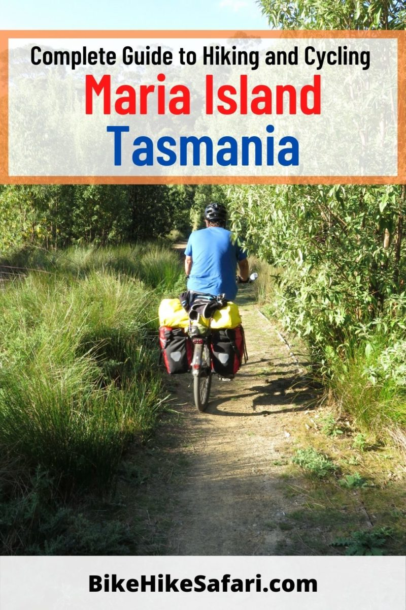 Complete Guide to Hiking and Cycling Maria Island Tasmania
