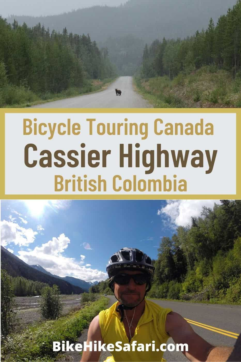 Bicycle Touring Cassier Highway Canada
