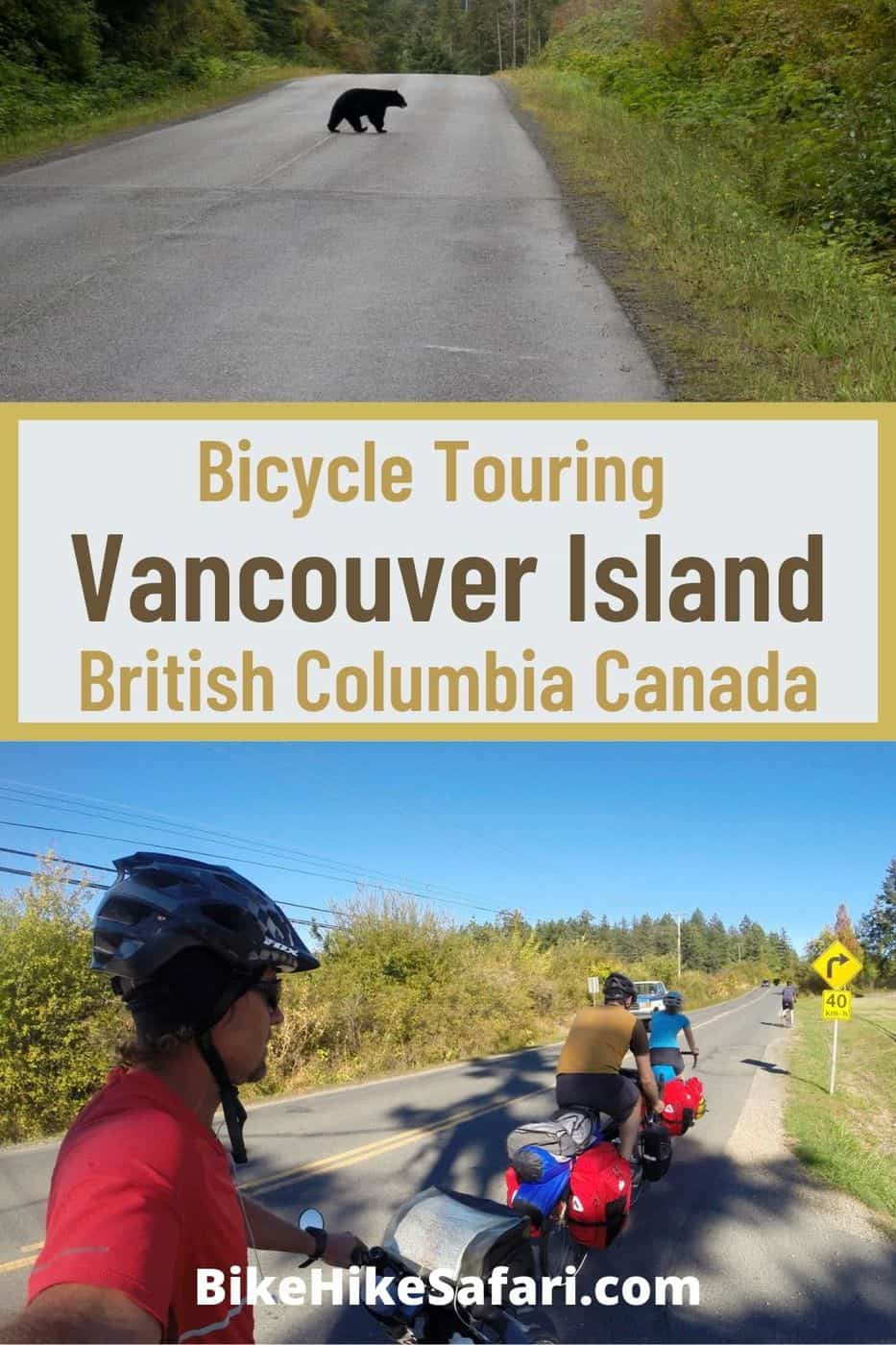 Bicycle Touring Vancouver Island Canada