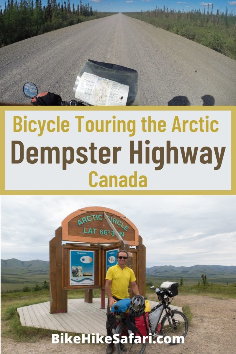 Bicycle Touring the Dempster Highway Canada