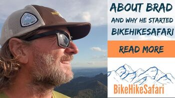 About Brad McCartney and BikeHikeSafari