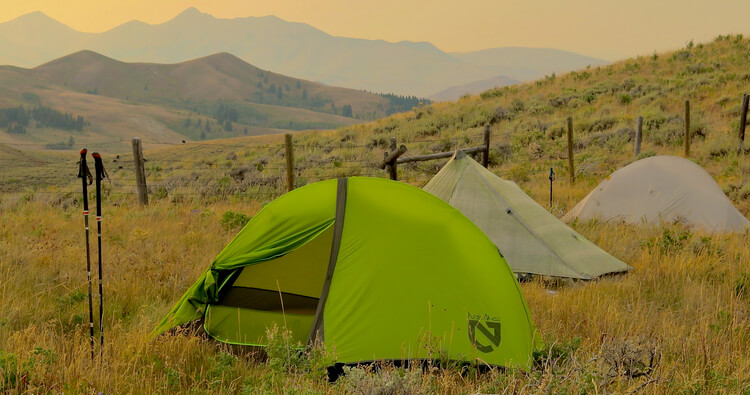 Best material for tents Silnylon and Dyneema