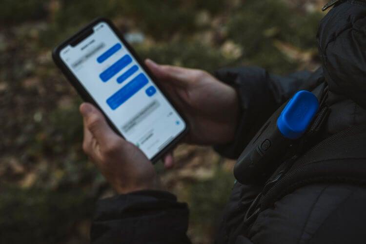 Two way Satellite Messaging messenger