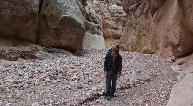 Hiking boots for the desert in Grand Canyon