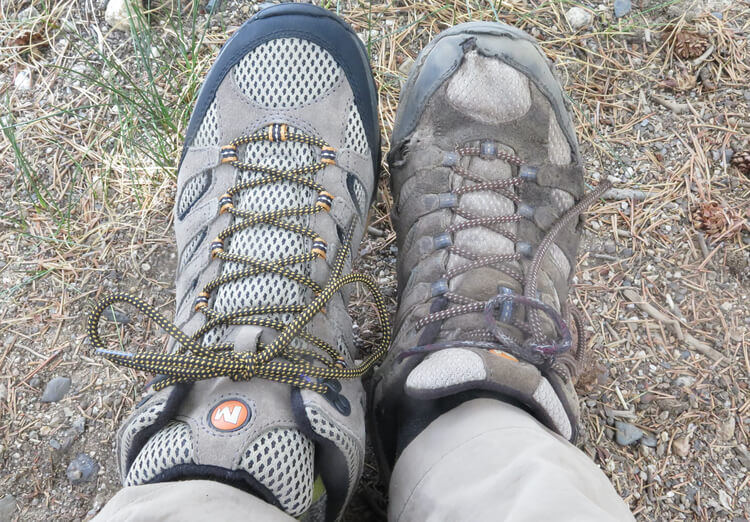 best hiking boots can wear out after 1000 miles of use